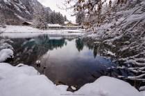 Winterlicher Blausee