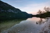 Abendstimmung am Bohinj Lake
