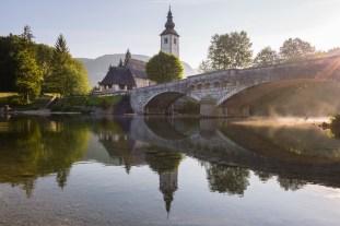 Kirche von Ribcev Laz