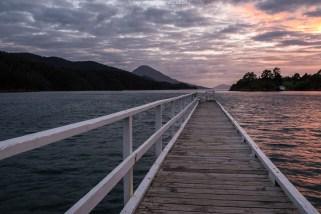 In der Elaine Bay, tief in den Marlborough Sounds, liegt einer der schönsten Campingplätze Neuseelands!