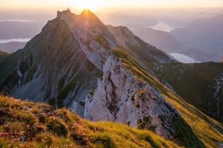 Sonnenaufgang am Drachenberg