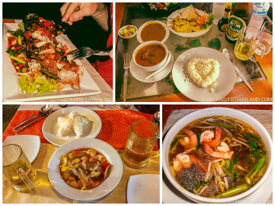 Thai Dishes from Aning Restaurant