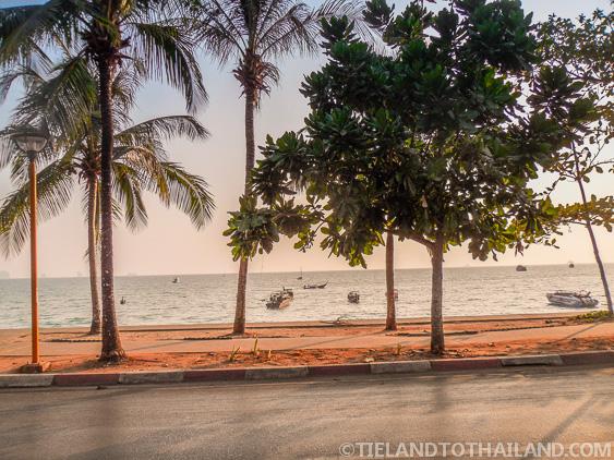 Road Along Ao Nang Beach