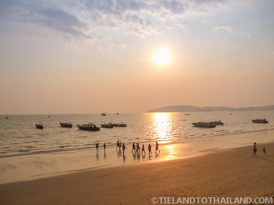 Andaman Sunset in Ao Nong