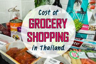 Cost of Grocery Shopping in Thailand