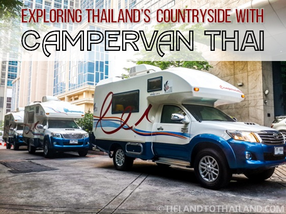 Exploring Thailand's Countryside with Campervan Thai