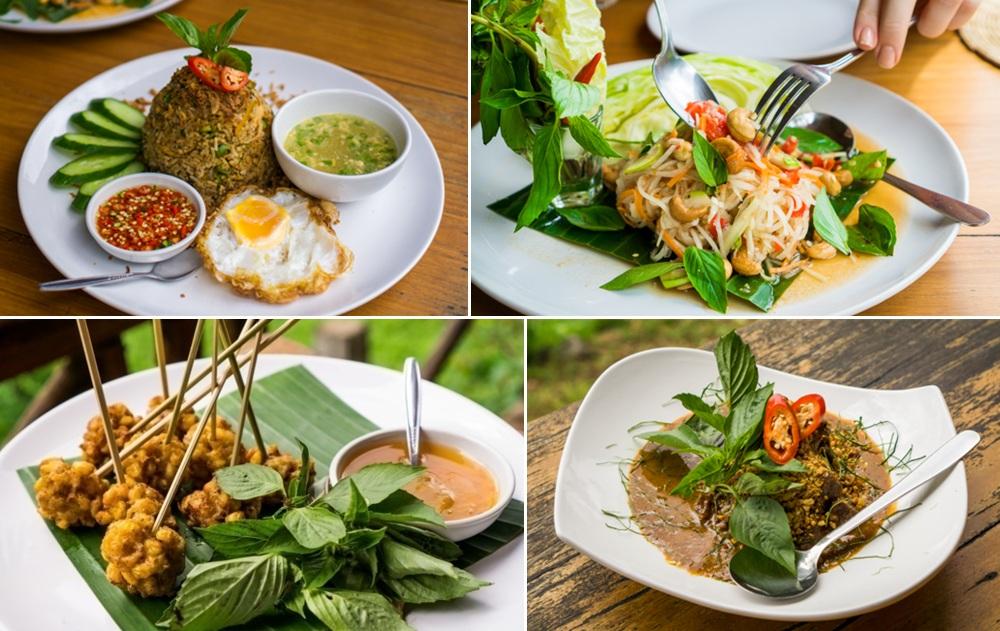 Chiang Dao Nest 2 Thai Lunch Menu
