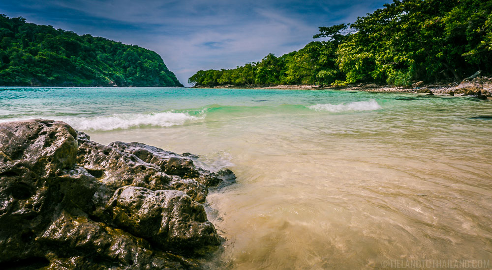 Best island in the Andaman Sea? Koh Rok Nai and its aquamarine waters.