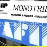 LA AFIP PUSO EN MARCHA UN PLAN DE PAGO POR DEUDAS EN MONOTRIBUTO