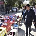 LEO NARDINI INAUGURÓ UNA IMPORTANTE OBRA DE PAVIMENTACIÓN EN TORTUGUITAS