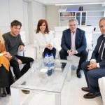 ALBERTO, CRISTINA, AXEL Y VERÓNICA SE REUNIERON CON EL FRENTE SINDICAL Y LAS CTA