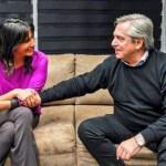 NATALIA DE LA SOTA – ALBERTO FERNÁNDEZ | La foto política que vale más que mil palabras