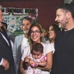 LOS MINISTROS DE SALUD EN MERLO JUNTO A GUSTAVO MENÉNDEZ