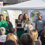 """Plan Argentina contra el Hambre: """"Juanchi"""" Zabaleta y Victoria Tolosa Paz propician la alimentación saludable en Hurlingham"""