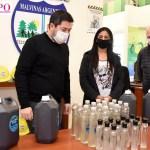 En Malvinas Argentinas la Planta de Biodiésel Municipal ya produjo 23 mil litros de su propio alcohol en gel