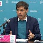 """El gobernador bonaerense Axel Kicillof anunció la """"vacunación libre"""" para todos """"los mayores de 60 años"""""""