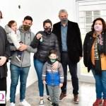 """Gustavo Menéndez agradeció al Gobierno nacional y funcionarios provinciales: """"Más familias de Merlo ya tienen Casa Propia"""""""