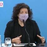"""Ministra Vizzotti: """"Quienes se vacunan no solo reciben un beneficio individual, sino que aportan al bien colectivo"""""""