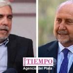 """El ministro Fernández recibió al gobernador Perotti y coincidieron en que """"no se puede permitir impunidad ante el narcotráfico"""""""