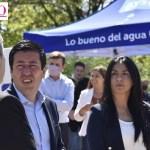 """Leo Nardini y un anuncio histórico: """"El 100% de Malvinas Argentinas tendrá la posibilidad de contar con cloacas"""""""