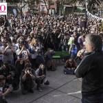 """Máximo Kirchner: """"Las cosas cambian cuando el pueblo se mete en los lugares donde se toman las decisiones"""""""