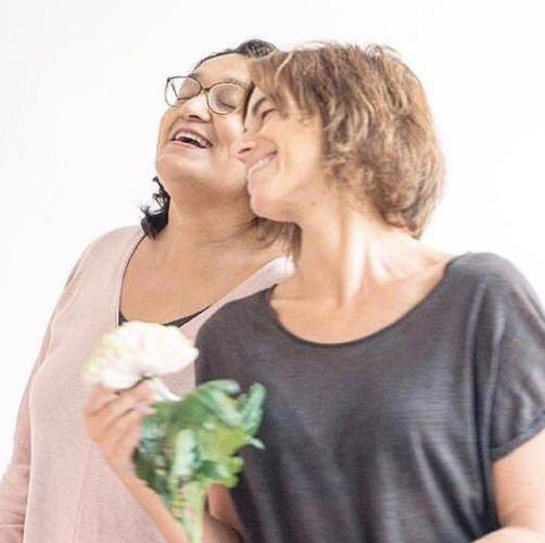 Carmen y Claudia · fundadoras de Jugar i Jugar