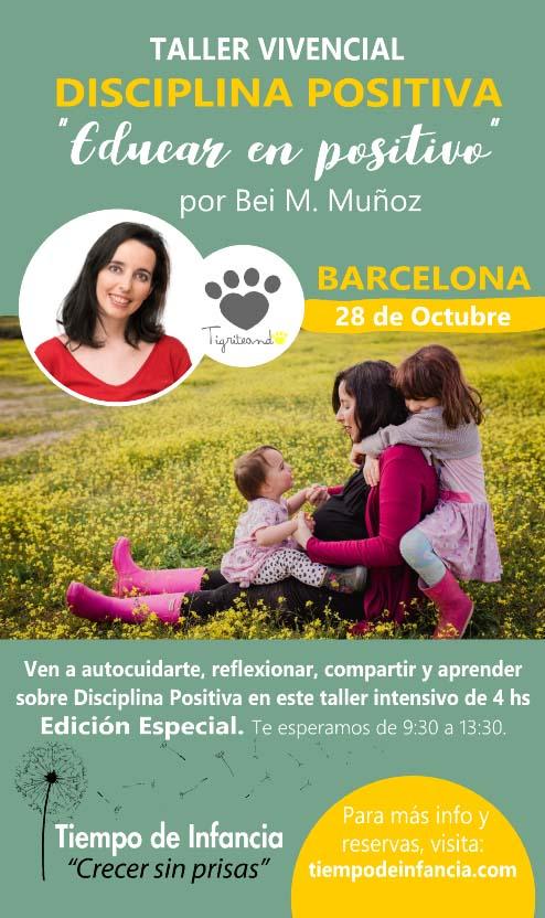 Eventos para padres y madres sobre crianza respetuosa: Tiempo de infancia