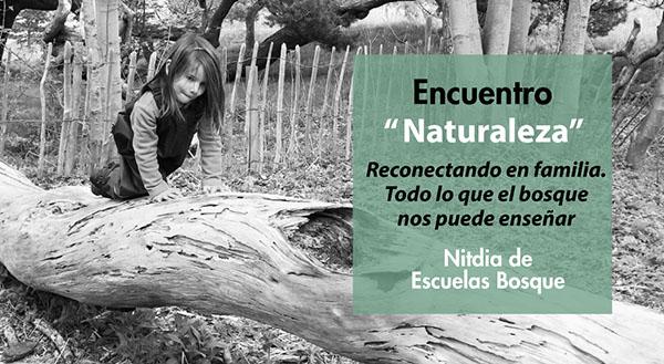 Charla para padres sobre naturaleza y familia