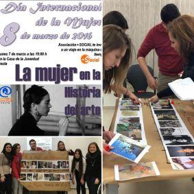 Gema González y Hamida Ahmed en el taller de la Casa de la Juventud de Ceuta