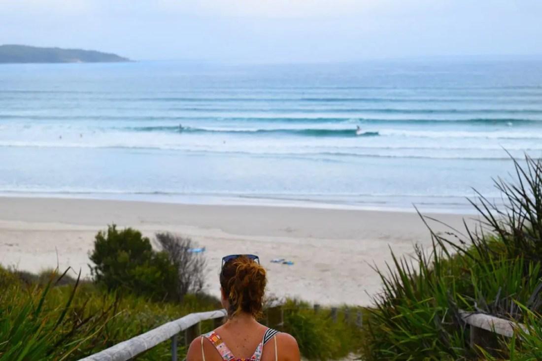 Cave Beach, Booderee National Park, Jervis Bay, NSW, Viajar a Australia