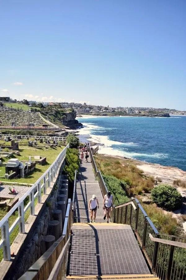 Bondi to Coogee Coastal Walk Lugares para visitar en Sydney, Australia.