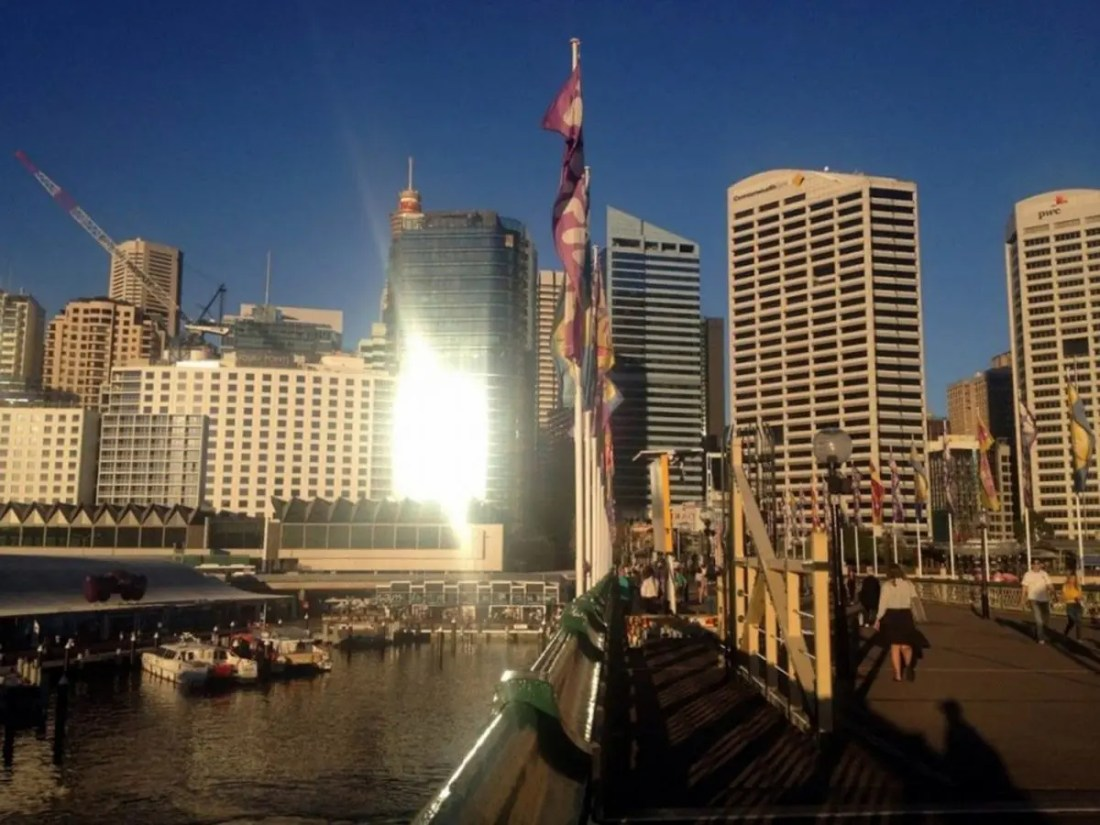 Darling Harbour. Lugares para visitar en Sydney, Australia.