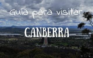 guia para visitar canberra, capital de Australia