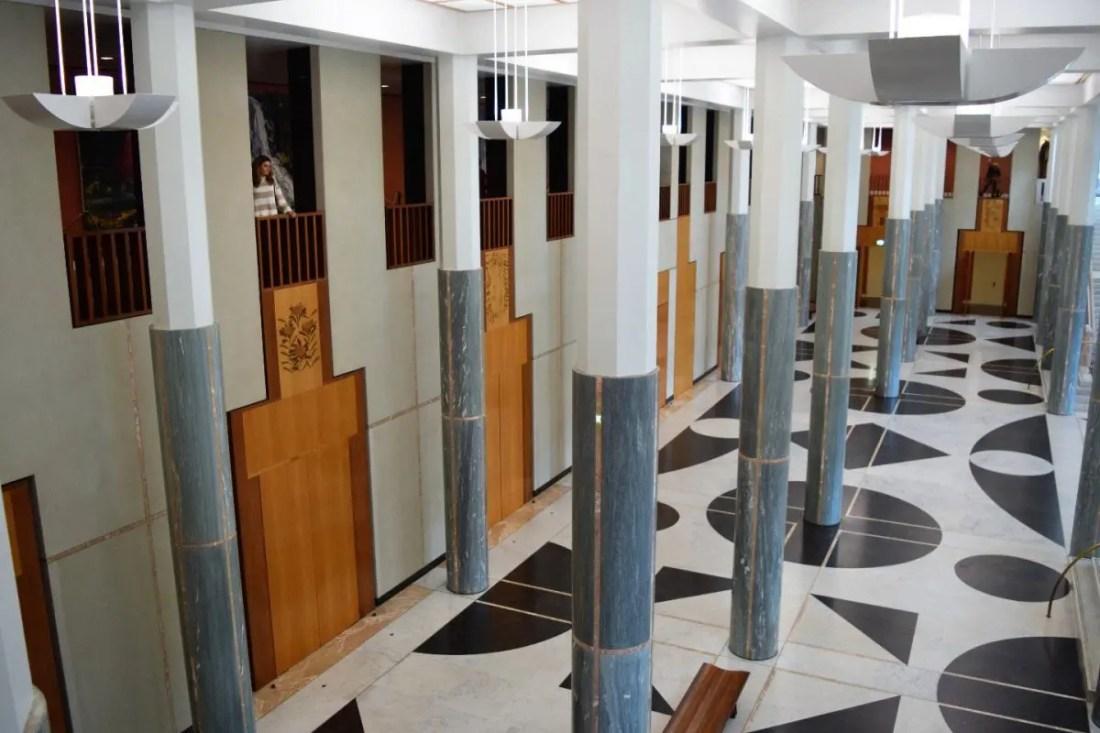 Parlamento de Canberra, Capital de Australia que visitar en Canberra