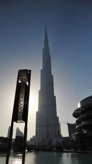 Burj Khalifa Dubai, Oriente Medio
