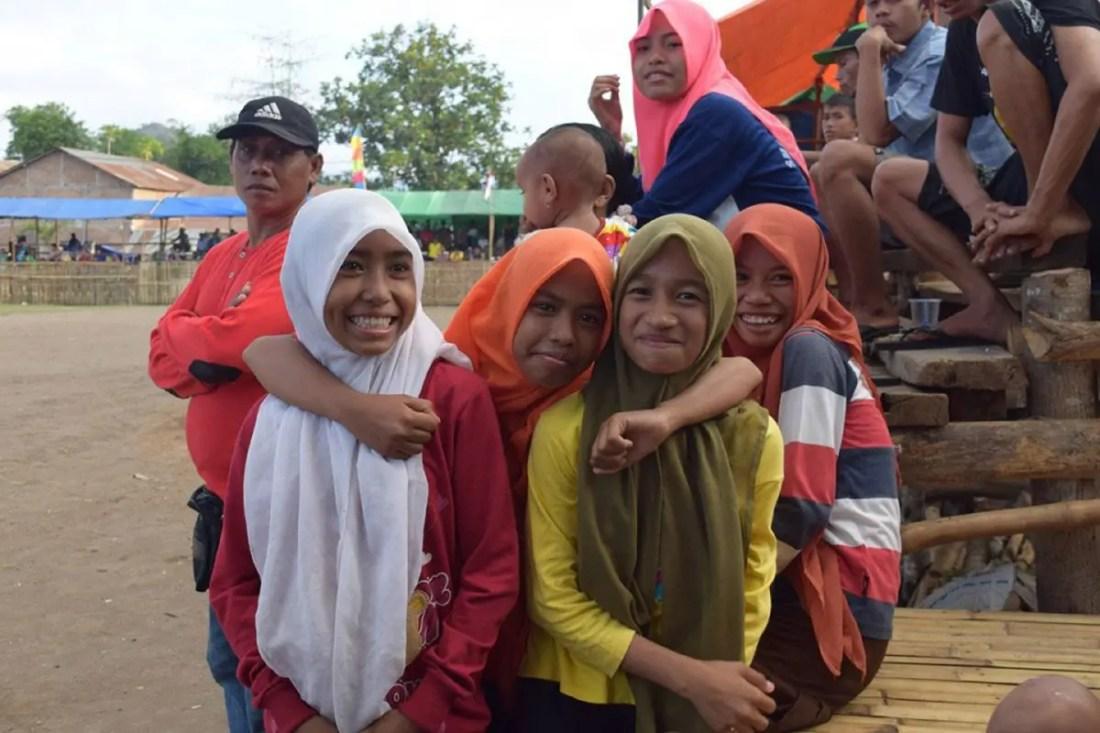 Chicas Sumbawa, Indonesia, Sudeste Asiático @tiempodexplorar 2016