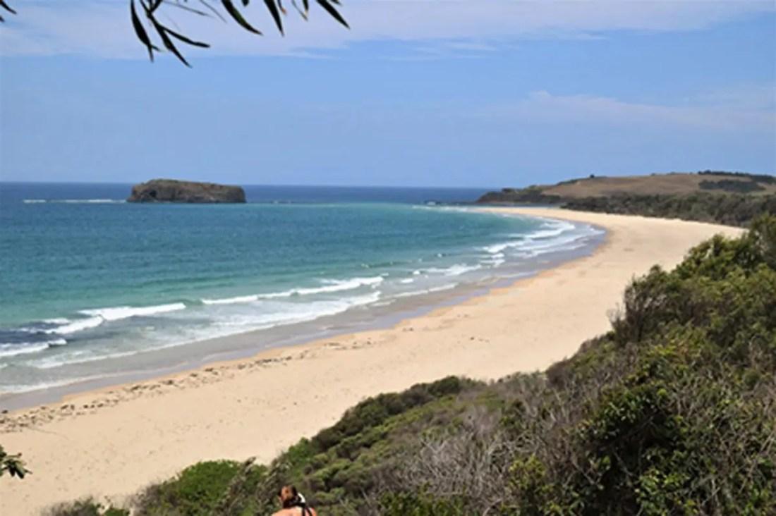 Mystics Beach, Killalea State Park, NSW, Viajar a Australia