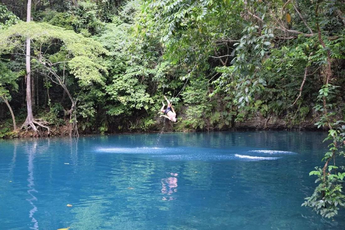 Riri Blue Hole, Isla de Espirtu Santo, Vanuatu