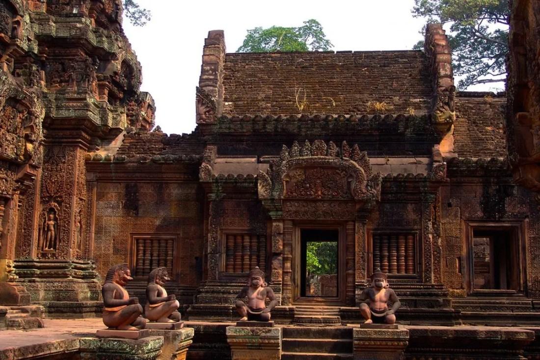 TemploBanteay Srei Camboya