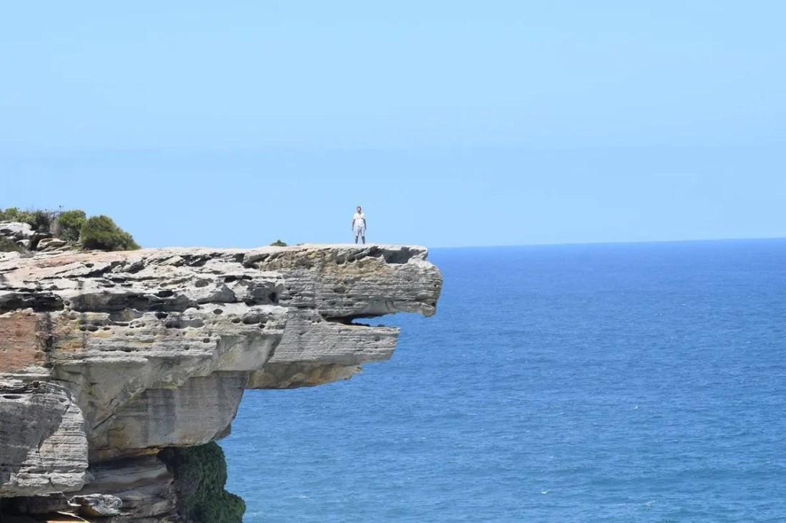 Eagle Rock, Royal National Park, Ruta de Sydney a Melbourne, NSW Australia