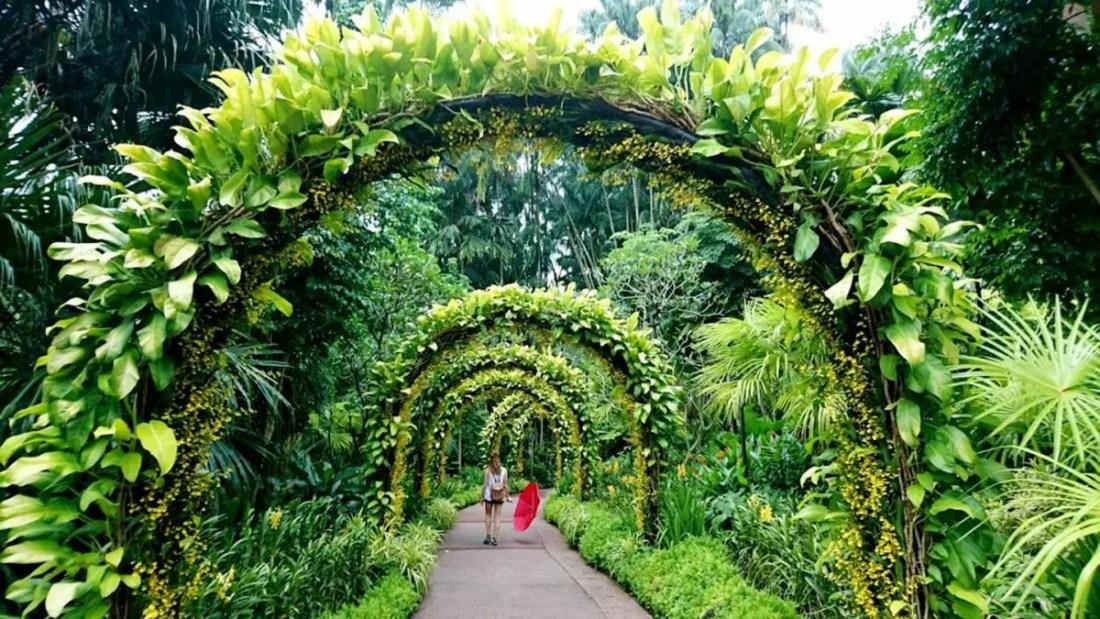 Botanic Gardens Singapur