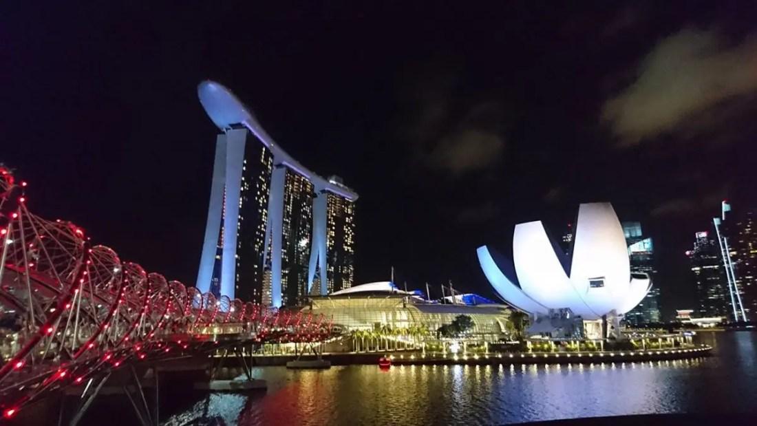 Arquitectura y modernidad, Singapur