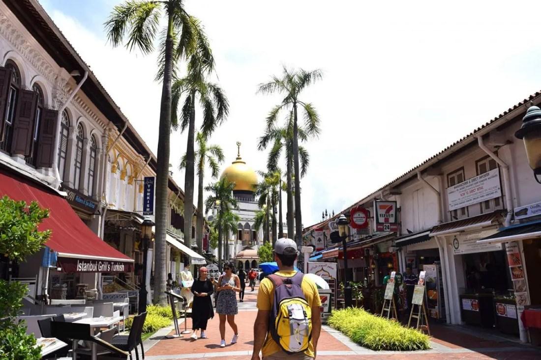 Barrio arabe Singapur