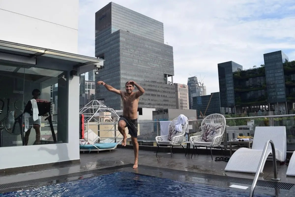 Azotea Fragance Hotel Riverside Singapur