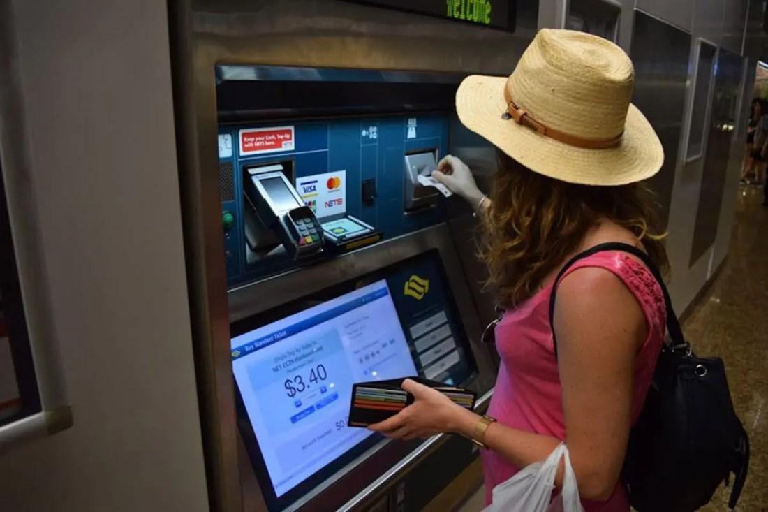 Guía Singapur: MRT Singapur ticket