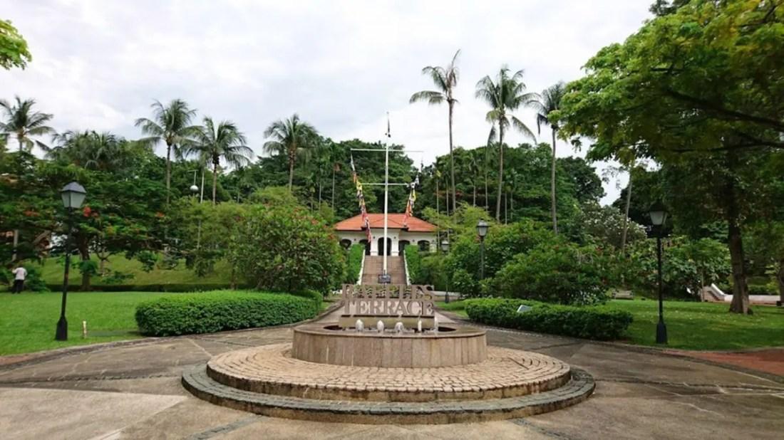 Fort Canning Park Singapur turismo