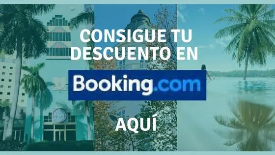 Consigue tu descuento en Booking.com