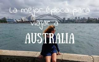 La mejor época del año para viajar a Australia