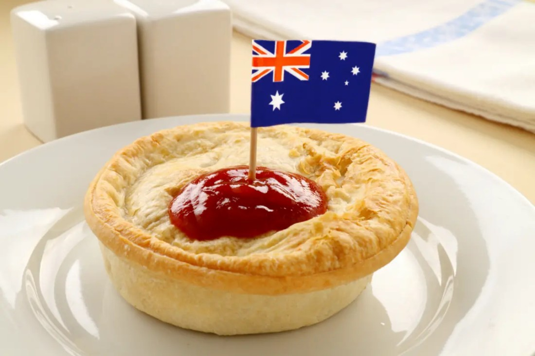 Meat Pie comida típica de Australia