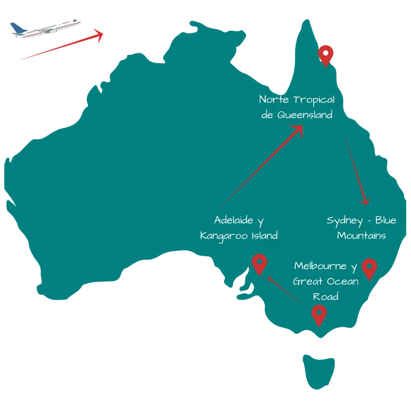 Viaje de Australia 15 días: Itinerario 3